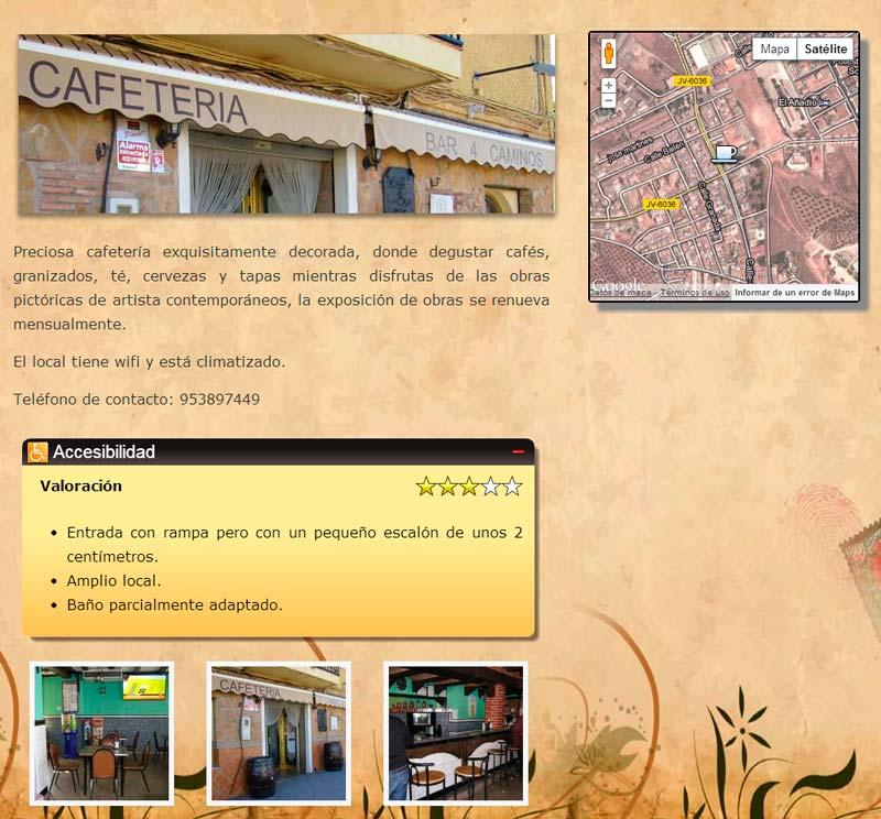 analisis de lugares ¿Qué es Turismo Accesible El Condado?