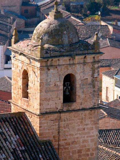 campanario iglesia santa agueda Sorihuela del Guadalimar