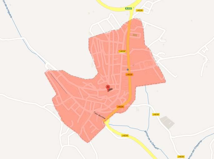 localización Sorihuela del Guadalimar Sorihuela del Guadalimar