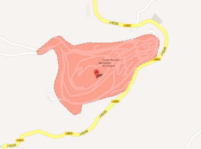 situación de chiclana de segura Chiclana de Segura